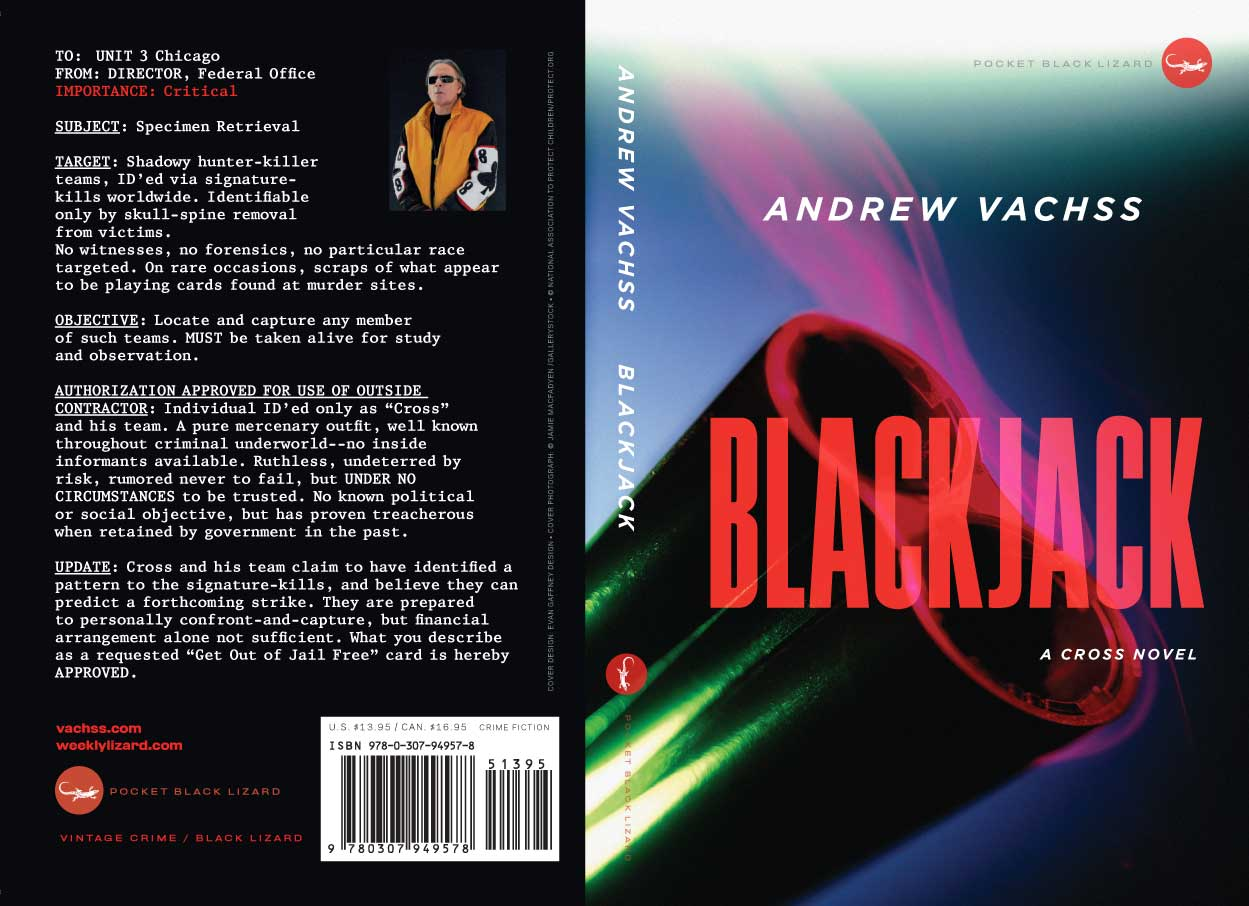 Blackjack: A Cross novel by Andrew Vachss